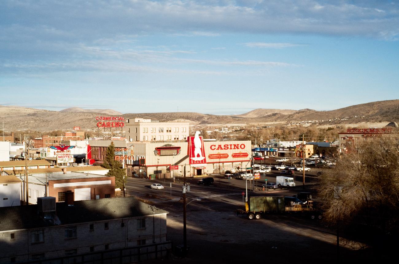 Elko, Nevada - purple MAGAZINE